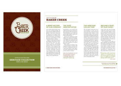 Baker Creek Spread
