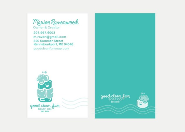 Good Clean Fun Co. Business Card