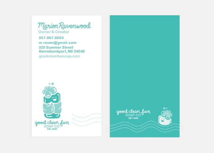 Good Clean Fun Co. Business Card