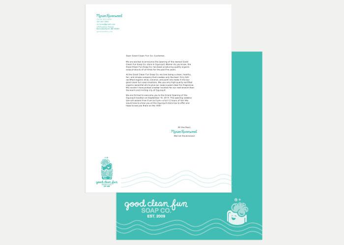 Good Clean Fun Co. Envelope