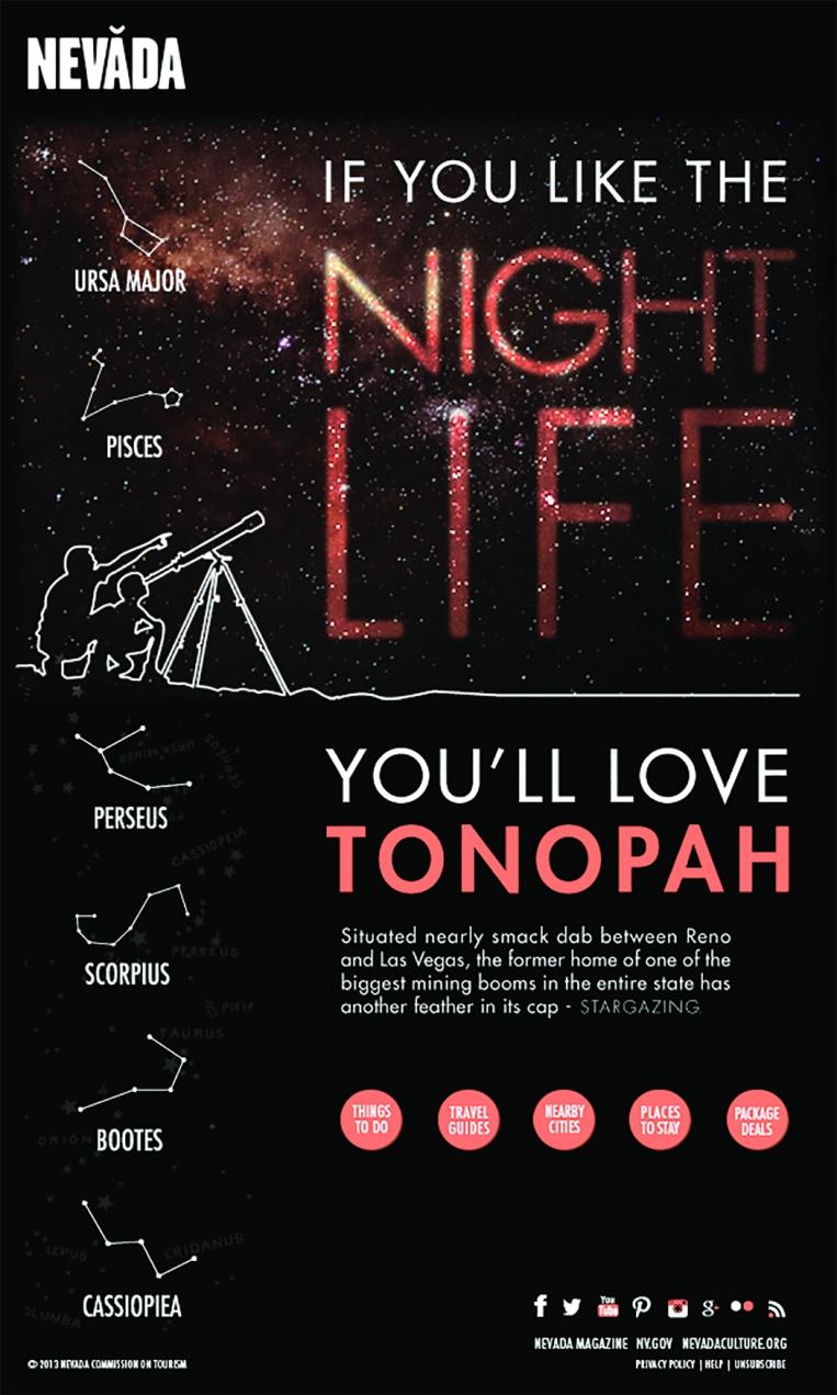Visit Tonopah Email