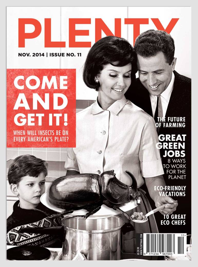 Plenty Magazine Cover