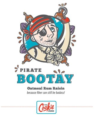 Pirate Bootay Illustrated Poster